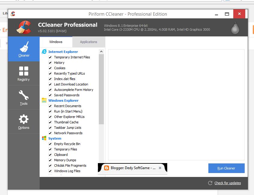 CCleaner 5.02 PRO full version