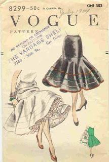moda dos anos 50