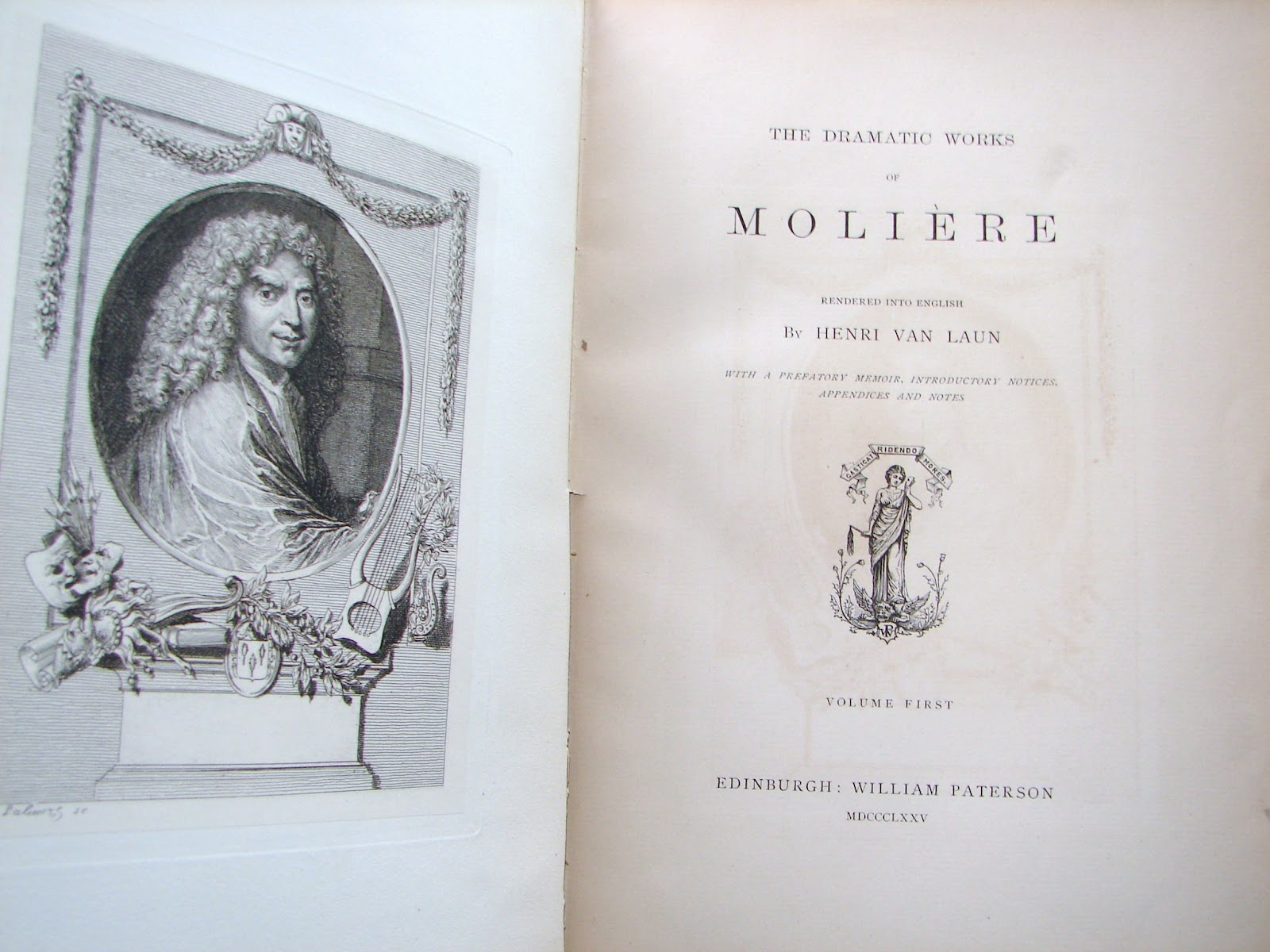 Molière: Recently Banned Literature: The Dramatic Works Of Molière