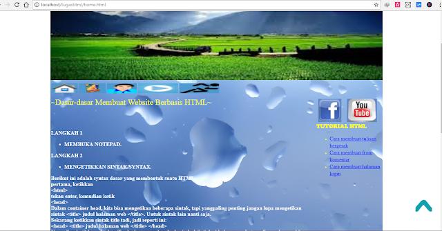 Download Aplikasi Web HTML Murni – Tugas Kuliah Informatika