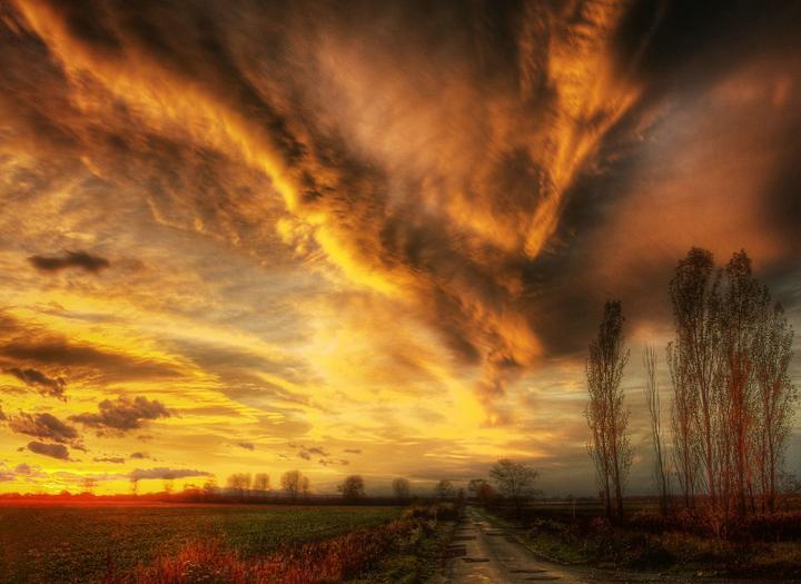 gün batımı manzarası resimleri