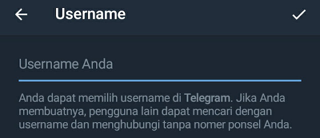 ID Telegram