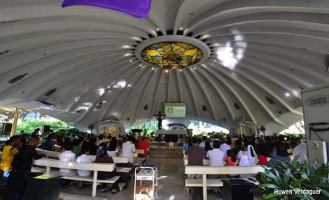 Inside Greenbelt Chapel