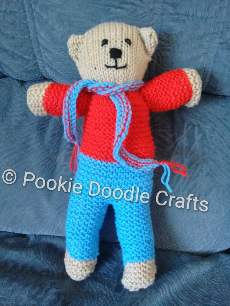Pookie Doodle Crafts: Teddies for Tragedies - Knit a bear for a child