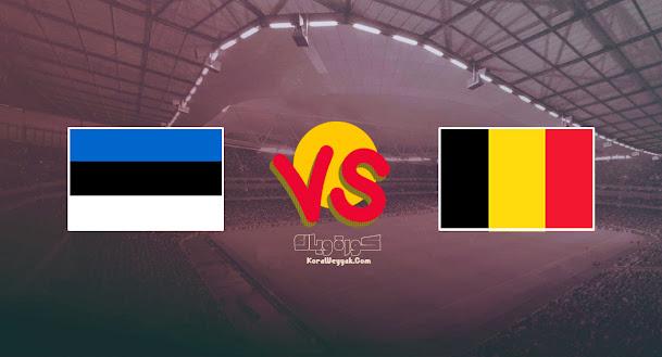 نتيجة مباراة إستونيا وبلجيكا اليوم 2 سبتمبر 2021 في تصفيات أوروبا المؤهلة لكأس العالم 2022