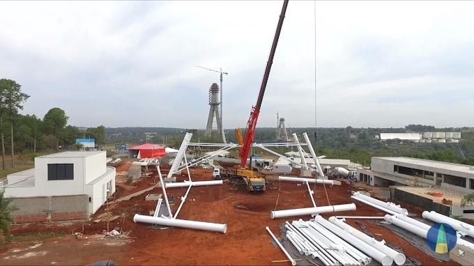 Foz Star, a nova roda-gigante de quase 90 metros de altura de Foz do Iguaçu! - Atualização 2