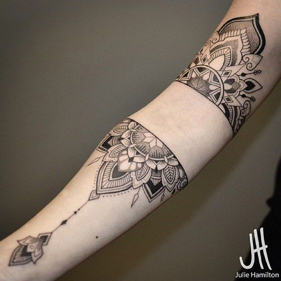 Gorgeous Mandala on Arm
