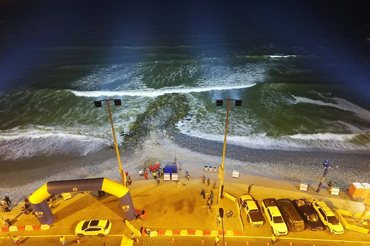 playa peru luz