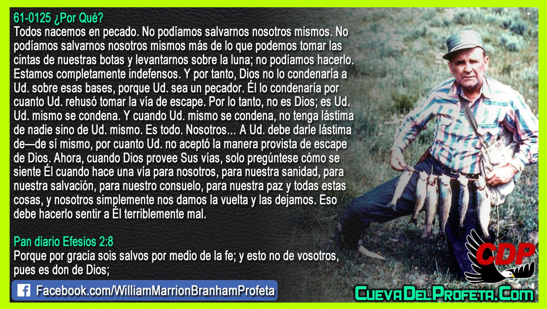 Usted rehusó tomar la vía de escape - William Branham en Español