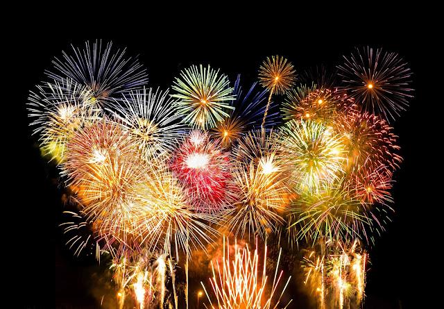 high resolution fireworks wallpaper