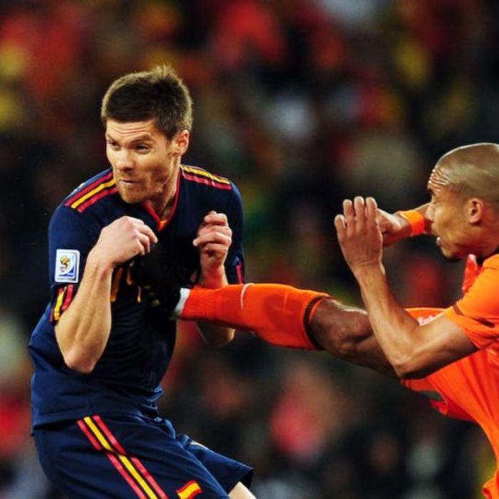 Dünya Kupası Finalinde De Jong'un Unutulmaz Tekmesi
