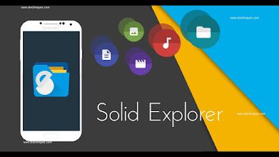 متصفح Solid Explorer  مجاني رائع