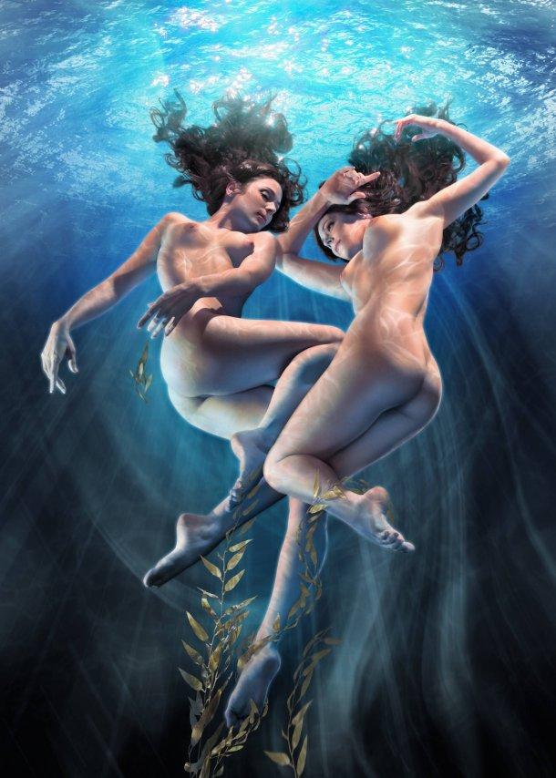 Jeff Wack pinturas nudez musas sensuais mulheres deusas arte