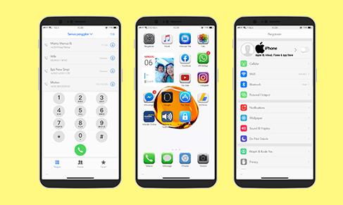 Download Tema iOS 14 3D Untuk Oppo dan Realme