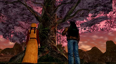 The Shenmue tree as seen in Shenmue II.