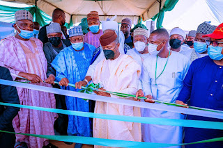 VP Of Nigeria Yemi Osinbajo Launches 100,000 Solar Home Systems In Jigawa [PHOTOS]