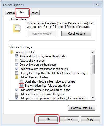 Berikut Cara melihat file tersembunyi di Windows 7,8, dan 10
