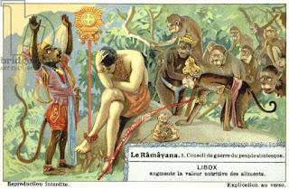 Vanaras in Ramayana