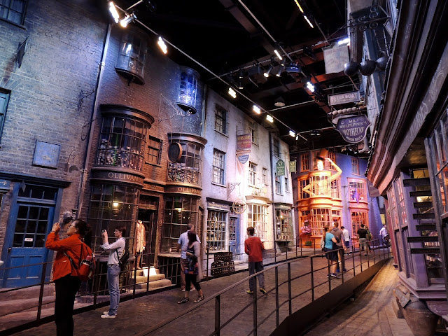 Diagon Alley, Harry Potter, Shopping Street