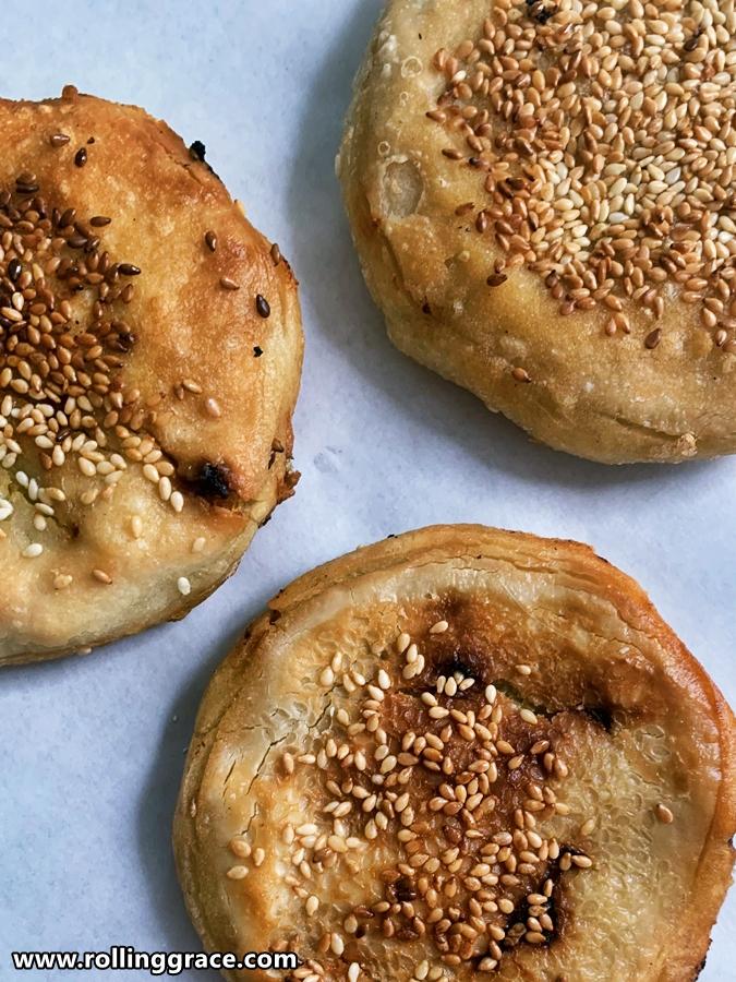 chinese sweet potato pancakes
