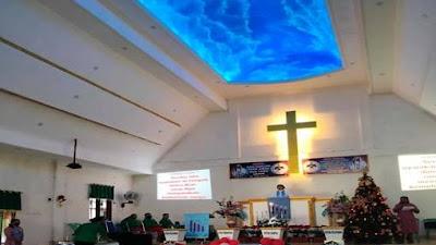 Komisi Pelayanan WKI Gmim Wilayah Bitung VI Rayakan Ibadah Sambut Natal Terbatas