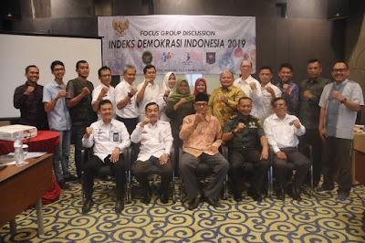 Sekda Provinsi Lampung Buka FGD Indeks Demokrasi Indonesia (IDI) Provinsi Lampung