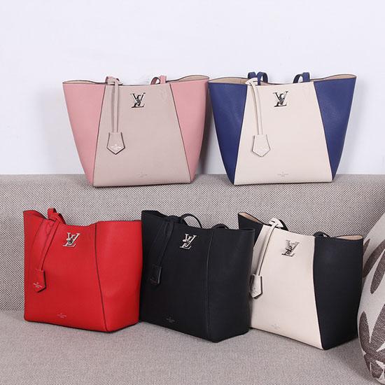 dcc284d375f6 Bag With You  Louis Vuitton Lockme Cabas Bag