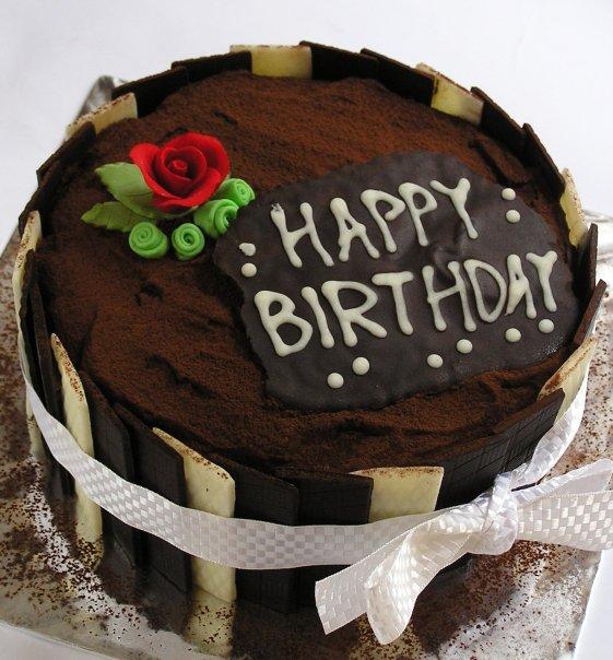 Hiasan Cake Dari Coklat