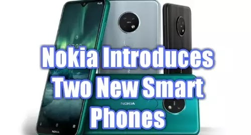 Nokia Introduces Two New Smart Phones  | Handy Tilte