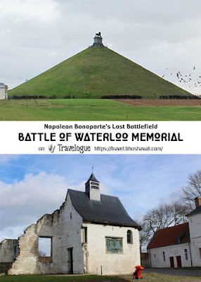 Hougoumont Farm Waterloo Memorial 1815 Pinterest