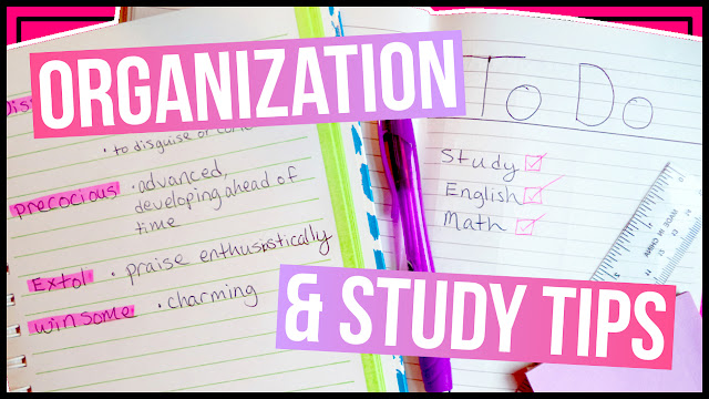 5 Organization & Study Tips How To Study Better for High School & College Study Tips