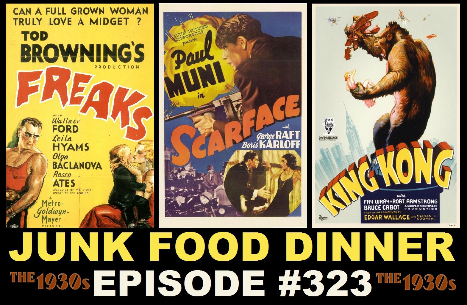 Jfd323 Freaks Scarface King Kong