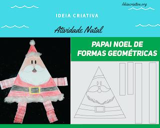 Atividade Natal para Educação Infantil com Papai Noel