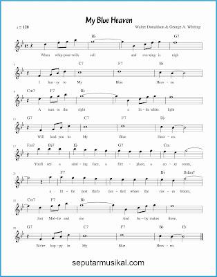 my blue heaven lagu jazz standar
