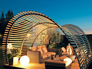Diseños de pergolas de madera