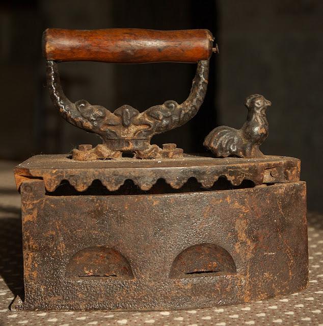 heavy antique iron