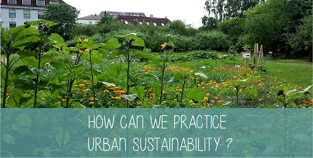 How can we practice urban sustainability Seminar om urban bærekraft