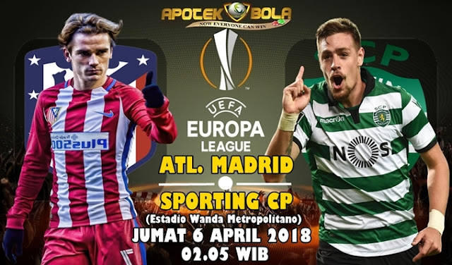 Prediksi Atletico Madrid vs Sporting CP 6 April 2018