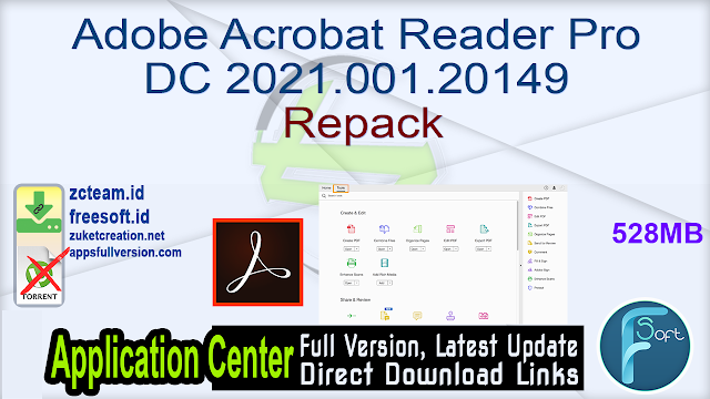 Adobe Acrobat Reader Pro DC 2021.001.20149 Repack