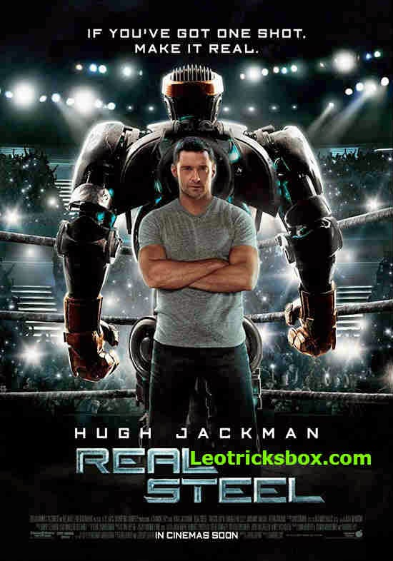 Movie : Real Steel (2011) 720p BRRip Dual-Audio [English-Hindi] 1