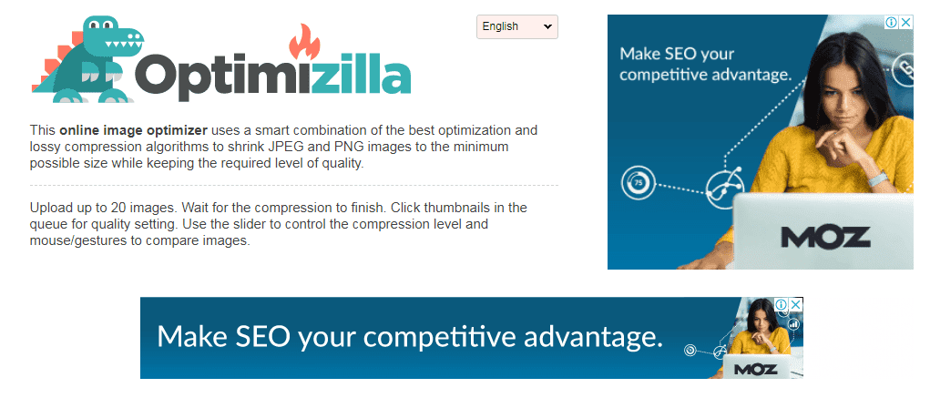 Image Compressor situs kompres gambar online gratis