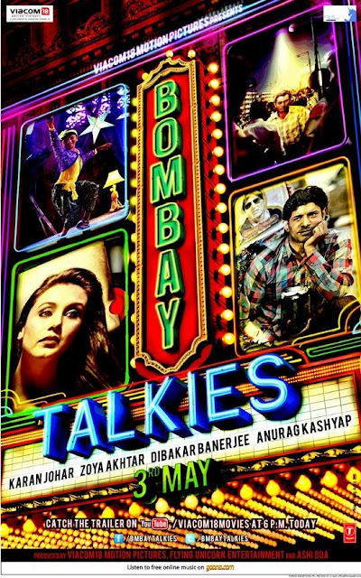 First Look Poster & Trailer of 'Bombay Talkies'