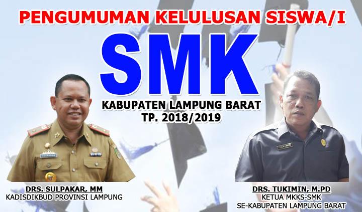 Pengumuman Kelulusan SMK Kabupaten Lampung Barat Tahun 2019