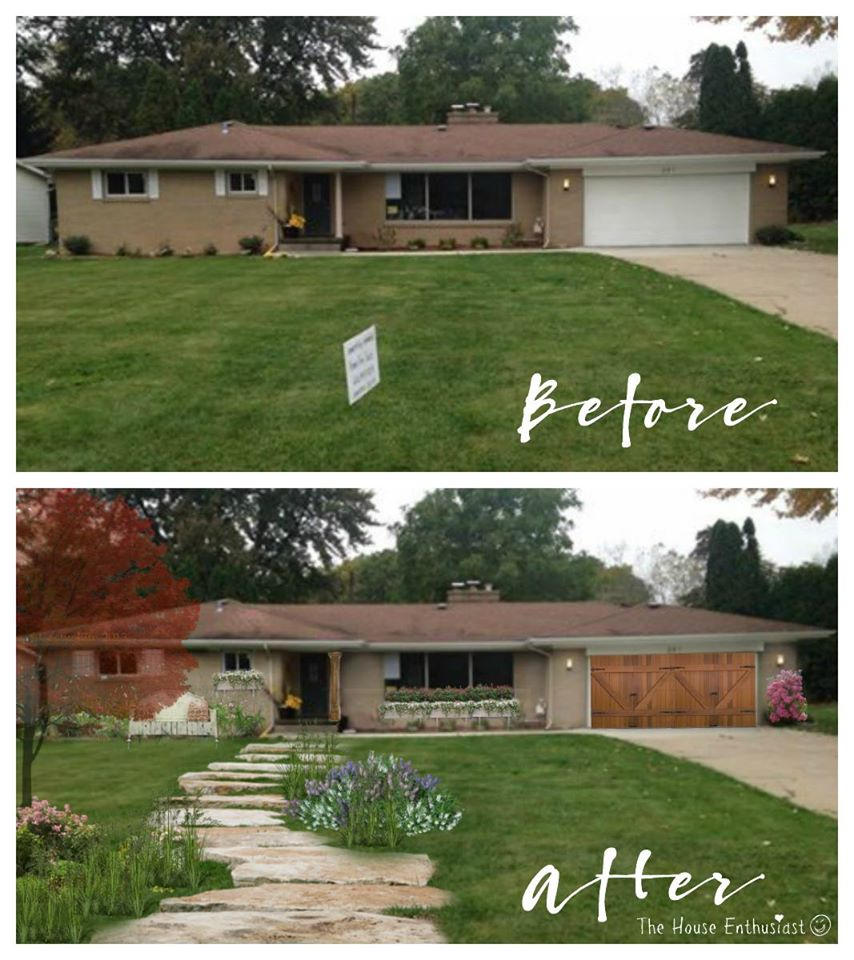 The House Enthusiast Before And After House Makeovers