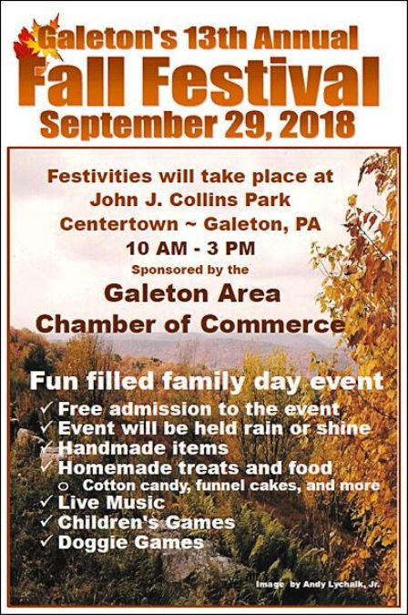 9-29 Fall Festival, Galeton, PA