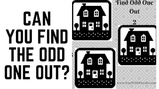 Can you find the odd one out in these pictures riddles?