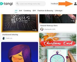 upload videos on tangi app