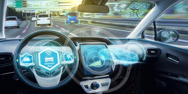 bagaimana cara kerja mobil self driving