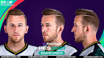 PES 2021 Faces Harry Kane by Yeshua