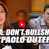 Must Watch: KAREN DAVILA GALIT NA GALIT KAY PAOLO DUTERTE! TINIRA, BINIRA, BINATIKOS!